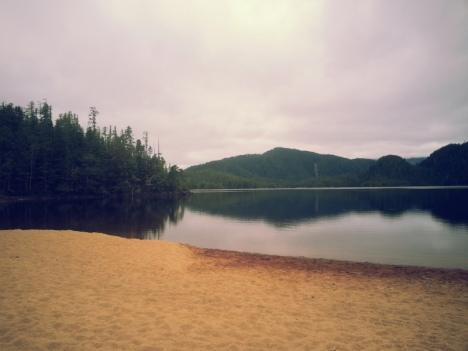 Lake above Codville Lagoon